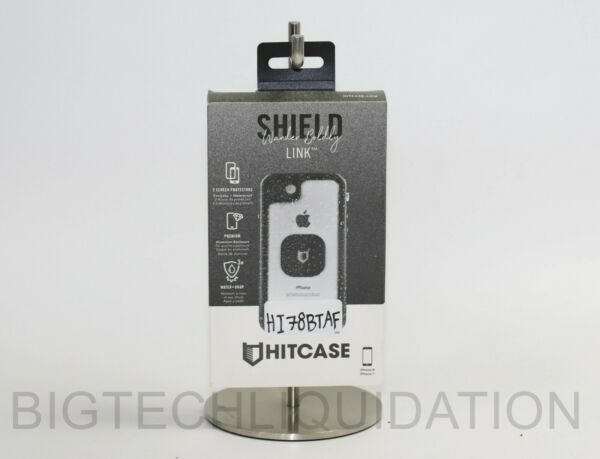 Hitcase - Shield Link Protective Water-resistant Case-iPhone® 78- BlackClear