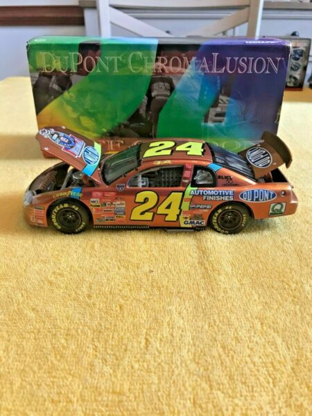 1998 JEFF GORDON #24 CHROMALUSION LIMITED EDITION 124 ACTION NASCAR DIECAST