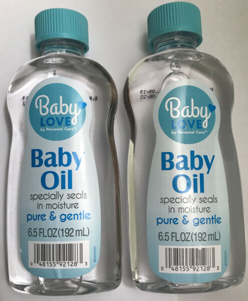 2 Baby Loves by Personal Care Baby Oil     6.5 fl oz. Bottle (2)