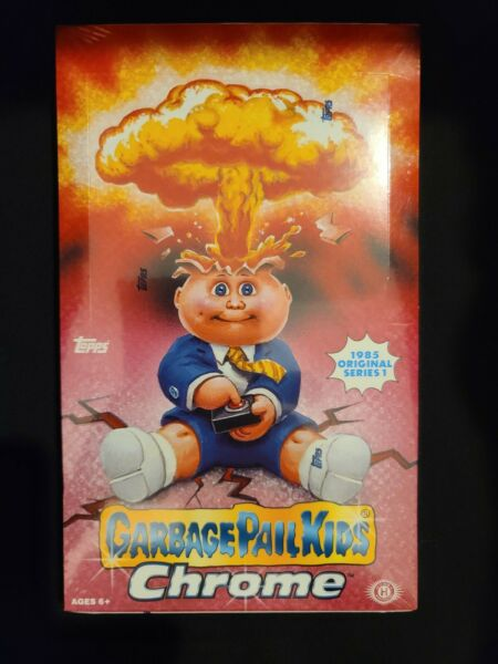 🔥HOT🔥 2013 GARBAGE PAIL KIDS TOPPS CHROME SERIES 1 HOBBY BOX GPK OS1 🧛‍👨‍🚀