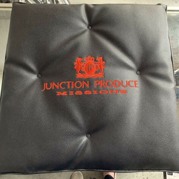 Junction Produce Seat Cushion Black With Red Fonts Authentic Authorized Dealer