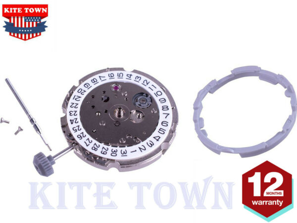 21 Jewels Automatic Movement For Miyota 8215 Date at 3 + Extra Parts Disc Wheel $47.99