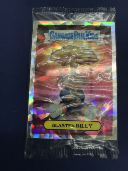 2013 Topps Garbage Pail Kids Chrome Atomic Refractor Blasted Billy STILL IN WRAP