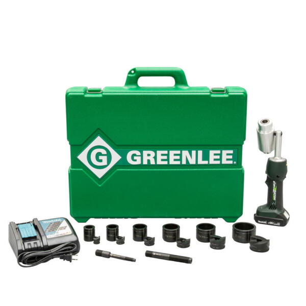 Greenlee LS50L11B Battery-Powered Knockout Punch Driver Tool Kit