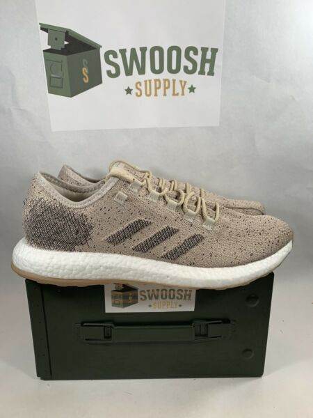 Adidas PureBoost Clima B37778 Running Shoes NEW RARE Men's SIZE 14 Pale Nude