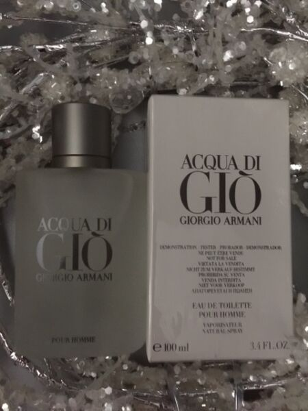 Acqua Di Gio 3.4 Oz. Men SPRAY EDT COLOGNE **NEW IN BOX** GIORGIO ARMANI