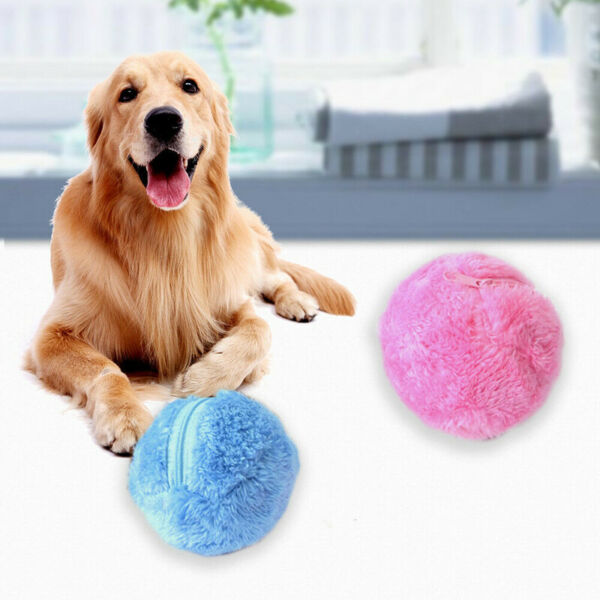 Milo Activation Automatic Ball For Dog Cat Puppy Pet Chew Electric Toy B SE $7.89