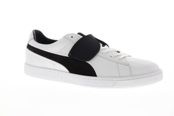 Puma Suede Classic X Karl 36631401 Mens White Leather Low Top Sneakers Shoes 12