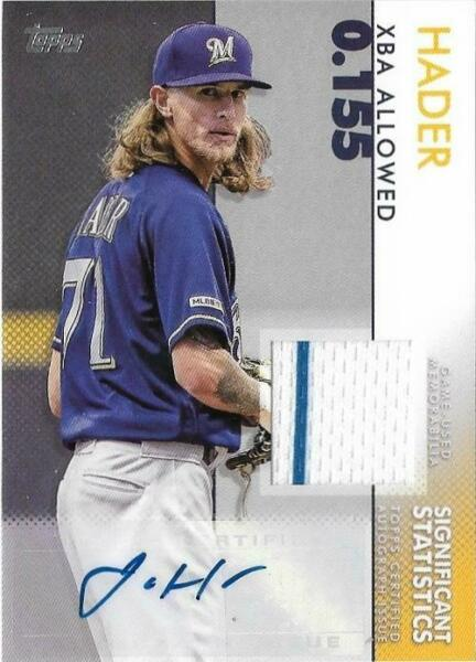 2020 Topps Baseball Series 2 AUTO JERSEY RC SP Parallel Inserts *FREE SHIPPING*
