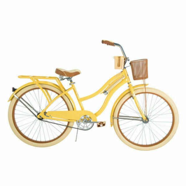 Huffy,Women's Cruiser Bike Nel Lusso with Steel Perfect Fit Frame, 26