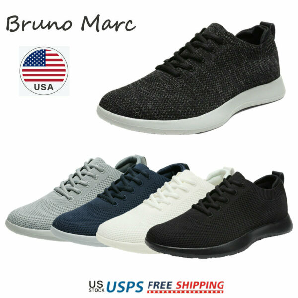 Bruno Marc Mens Walking Shoes Breathable Fashion Sneaker Casual Shoe Size 6.5 13