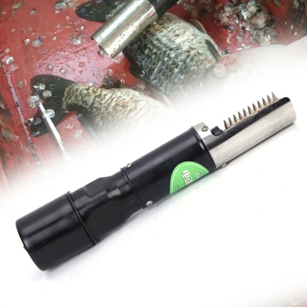 Waterproof Electric Fish Scaler Remover Scraper Stainless Steel for markethome