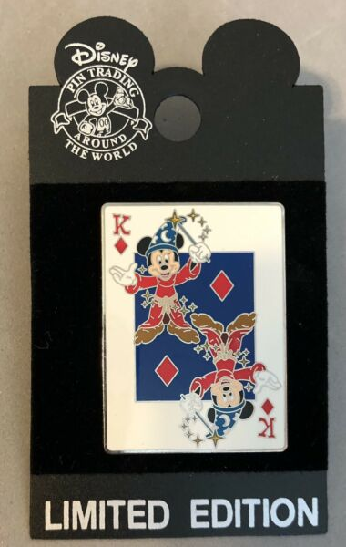 Sorcerer Mickey Mouse King Diamonds Disney WDW Surprise Pin LE 1000 New on Card