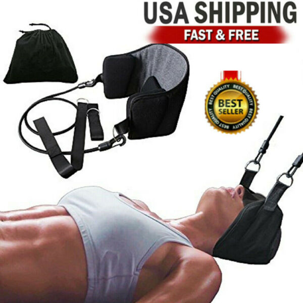 Head Hammock for Neck amp; Headaches Pain Relief Cervical Traction Stretcher w bag $13.99
