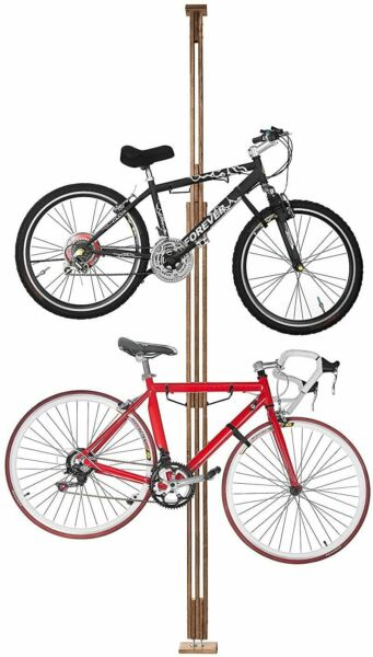 2021 Rad Cycle Woody Bike Stand Bicycle Rack Storage Or Display TWO BIKE $87.99