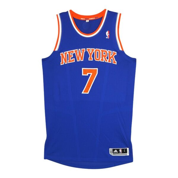 Carmelo Anthony Adidas New York Knicks Authentic Rev 30 Pro Cut Jersey Large