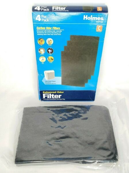Holmes Carbon Odor w Baking Soda Filter C HAPF60 4 Pack Sealed In Box $15.00