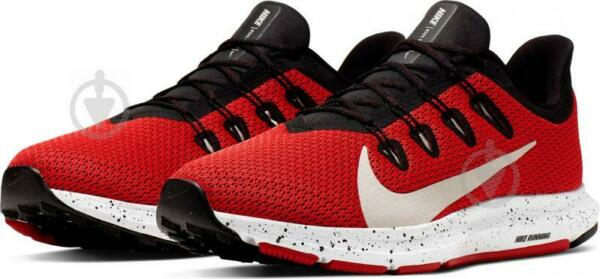 Nike Mens Quest 2 SE Running Training Sneakers Shoes Red Black Size 10 NEW $75
