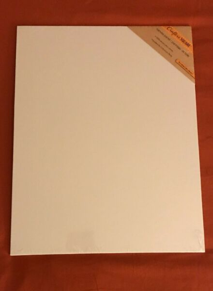 Crafters Square CANVAS PANEL BOARD 11 X 14 in. Oil and Acrylic Painting $4.65