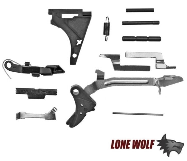 Lone Wolf Universal Completion Parts Kit Lower for Glock Gen 1 2 3 UFK