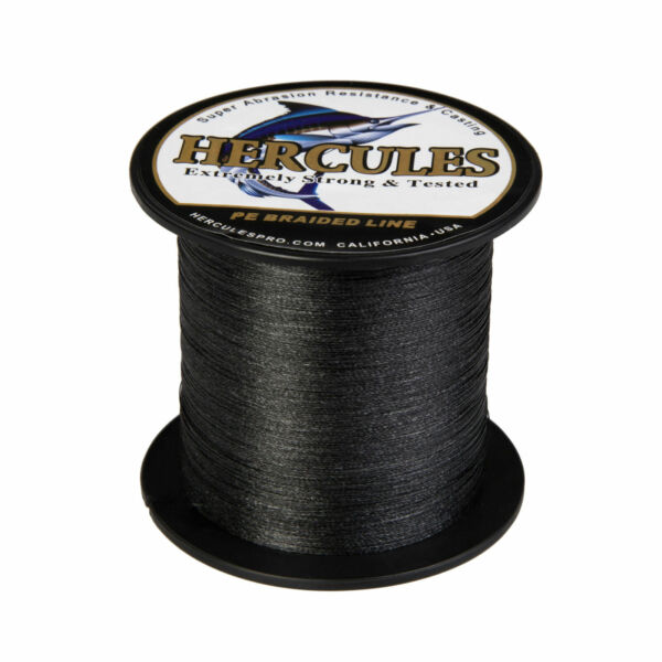 Hercules 328Yds 6lb 300lb Strong PE Braided Fishing Line Super 4 8 Strands 300M