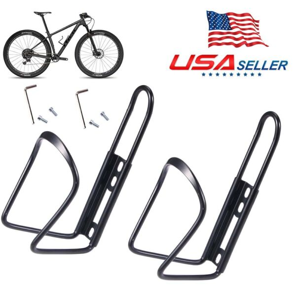 2x Bike Bottle Cage Cycling Water Cup Holder For MTB Bicycle Rack Bracket $7.20
