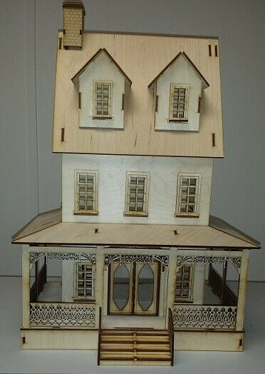 Abriana Country Cottage (1:24 Scale) Dollhouse