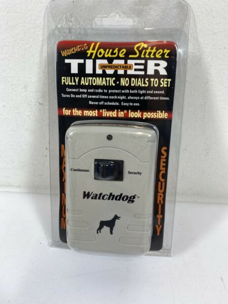 Watchdog House Sitter Timer Fully Automatic NEW in Package C6 $11.99