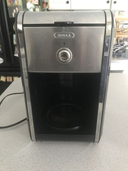 Rare Bella Dots Collection 12 Cup Manual Replacement Coffee Maker ONLY Black
