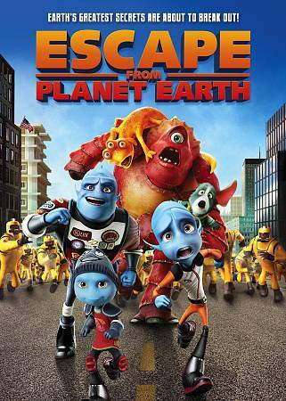 ESCAPE FROM PLANET EARTH (DVD) NEW FACTORY SEALED $2.99