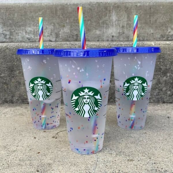 starbucks confetti color changing cup 2020