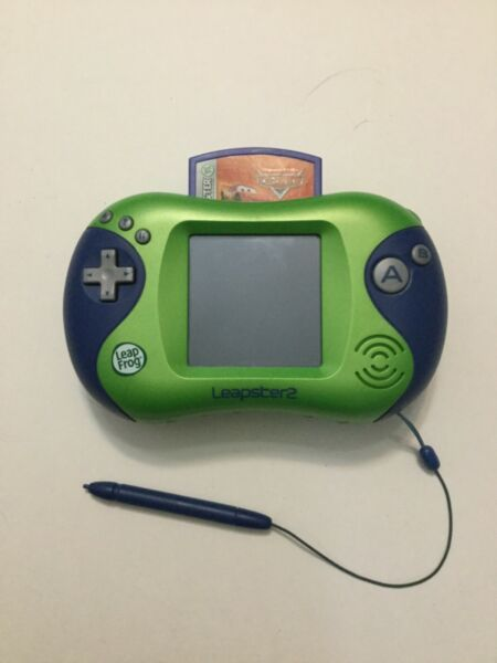Leap Frog Leapster 2 Handheld Learning System W Stylus and games  $10.50