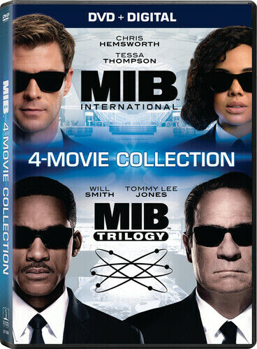 Men in Black: 4 Movie Collection New DVD Boxed Set Digital Copy