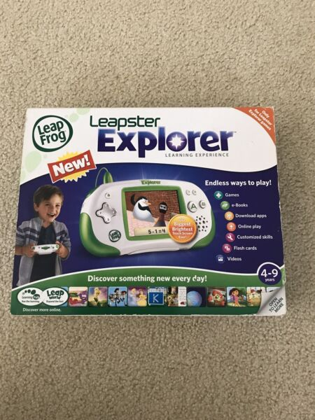Leap Frog Leapster Explorer - NEW in box $20.00