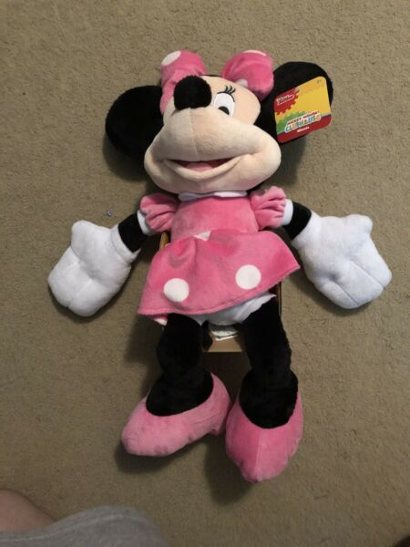 Disney Junior Mickey Mouse Clubhouse Minnie Mouse Plush New With Tags