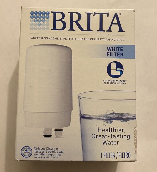 1 BRITA Faucet Water Filter System Replacement Filter FF 100 WHITE