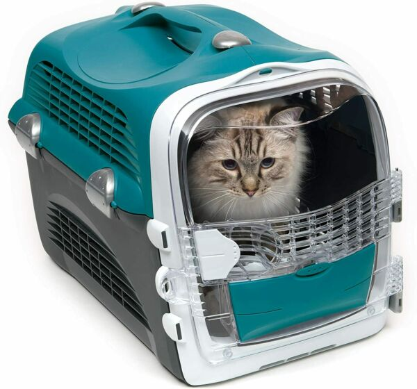Catit Design Kitty Cat Cabrio Multi Functional Carrier System Turquoise Airline $69.99