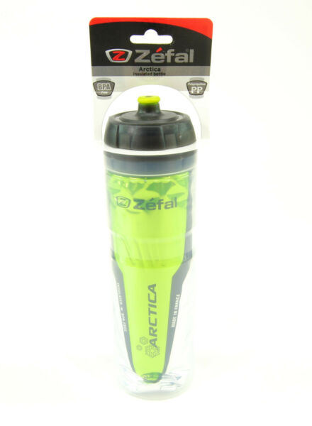 Zefal 165 Arctica 25oz Insulated Bicycle Water Bottle Green