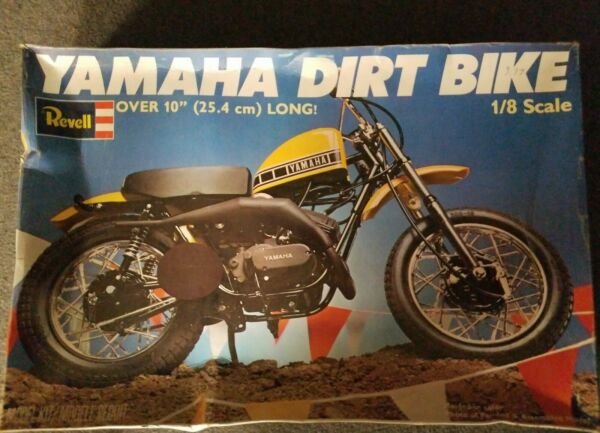 Yamaha Dirt Bike By Revell 1:8 scale $78.99