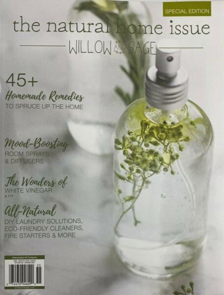 WILLOW AND SAGE MAGAZINE THE NATURAL HOME ISSUE SPECIAL EDITION 2020 $11.99
