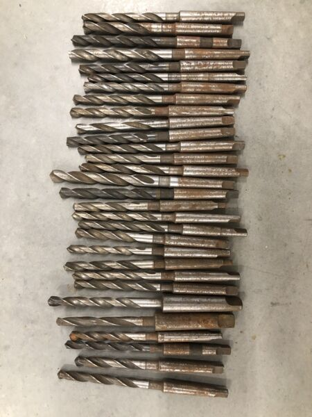 3 8quot; TWIST DRILL amp; No.1 Taper SHANK Drill BIT Other Sizes Available. Each