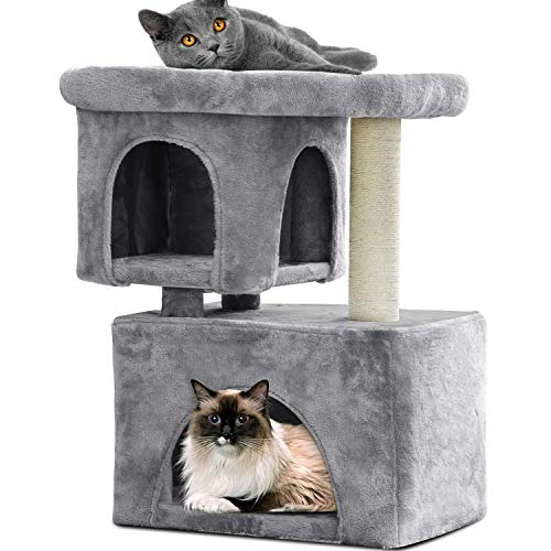 BEAU JARDIN Cat Tree for Large Cats Heavy Cat Condos and Towers for Big Cats XL