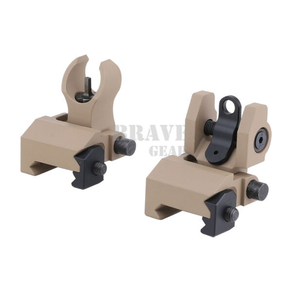 Tactical Micro HK Sight Kit Front and Round Rear Folding Low Profile Sight Iron $39.95