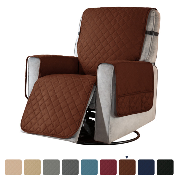 Subrtex Recliner Chair Cover Slipcover Reversible Protector Anti Slip Sofa Soft $29.99