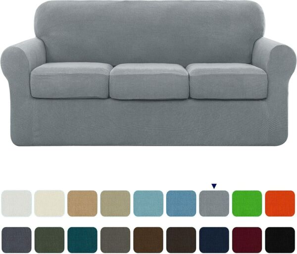 Subrtex High Stretch Slipcover With Separate Cushion Cove Couch Sofa Covers $49.99