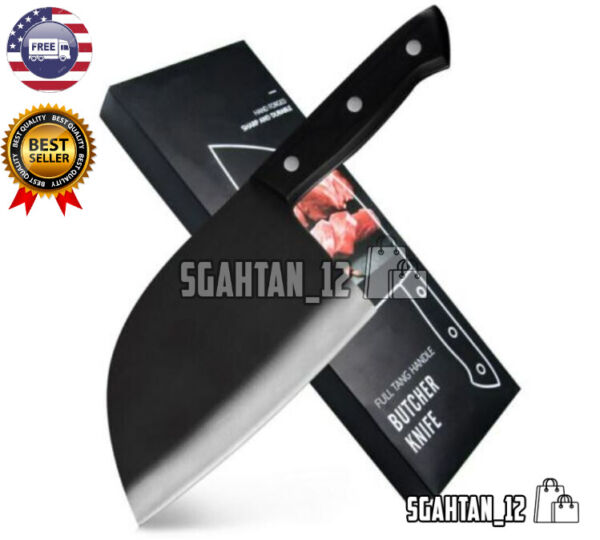 Hunters Serbian Chef Knife Steel Kitchen Handmade Knives Forged High Clad Carbon $34.99
