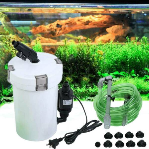 Aquarium Fish Tank External Canister Filter Outside Pre Filter Mini Filter 603B $34.49