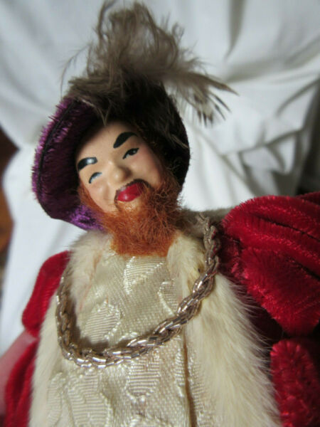 Henry VIII Artist Doll by B. Brooks 8quot; Ped. A. Doll