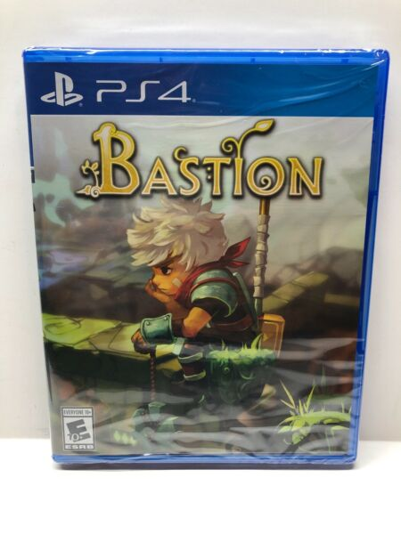 Bastion Playstation 4 PS4 Limited Run Physical Game LRG #174 Sealed $99.99