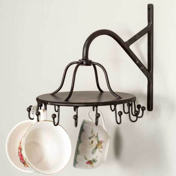 Spinning 16 Hook Wall Rack For Mugs or Misc Decor $28.50